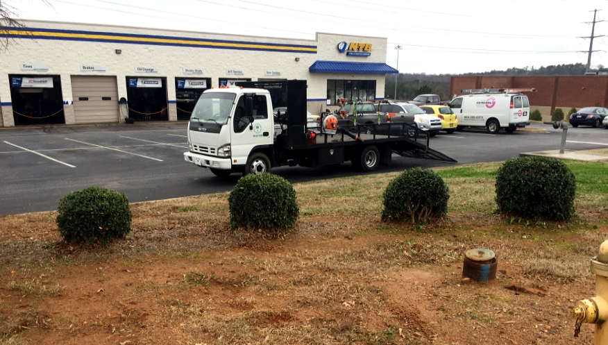 commercial landscaping upstate sc