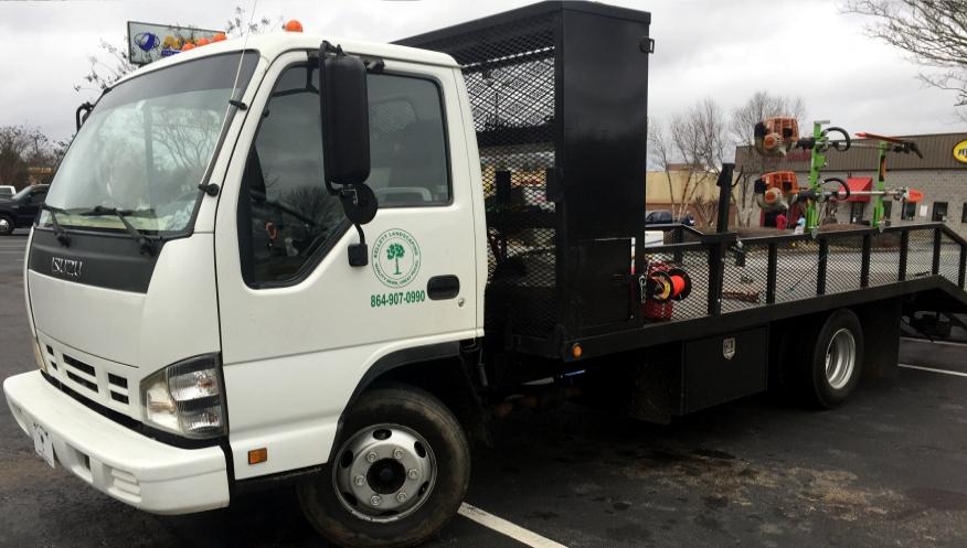 kellett landscaping truck